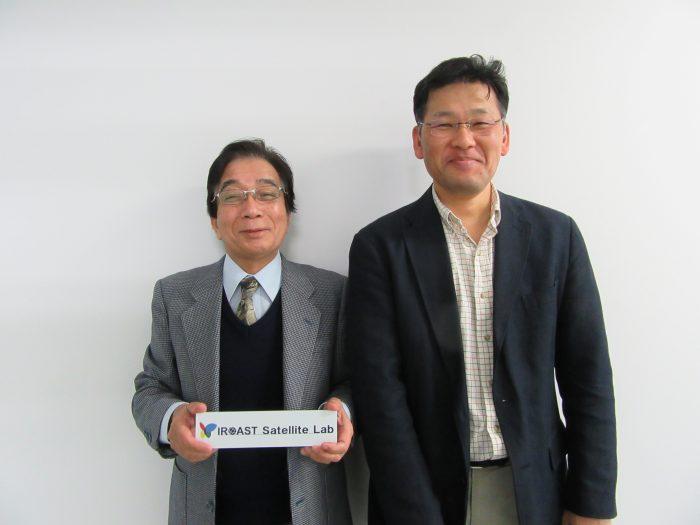 勝木先生と